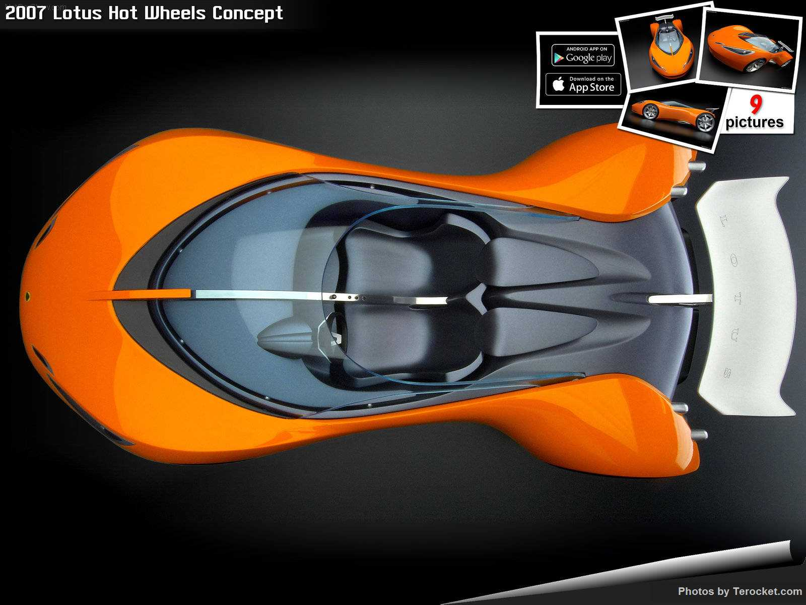 Hình ảnh siêu xe Lotus Hot Wheels Concept 2007 & nội ngoại thất