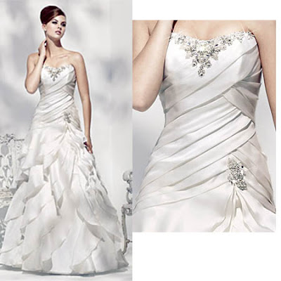 White bridal gowns, beautiful , stylish, trendy, images, pictures