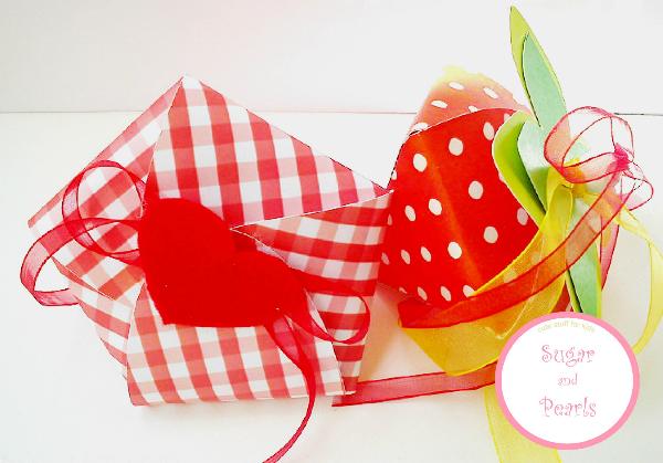 Κουτάκι φραουλίτσα-by Sugar & Pearls