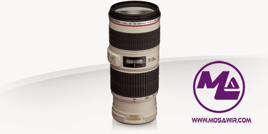 عدسة كانون: EF 70-200mm f/4L IS USM
