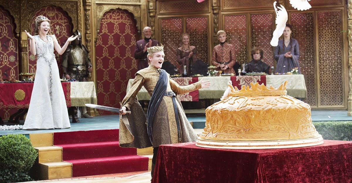 Joffrey empanada de Paloma - Juego de Tronos en los siete reinos