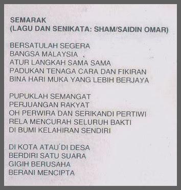 Lirik Loving Born Semarak