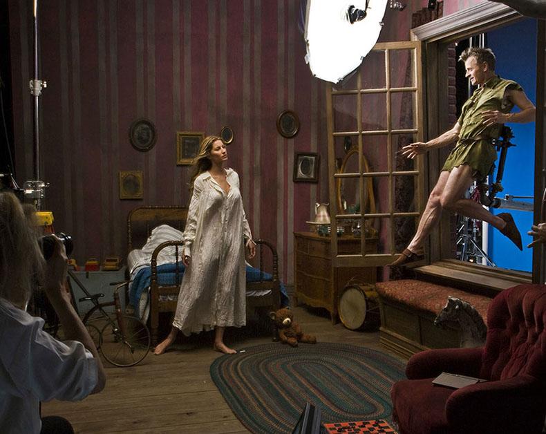 Retratos celebridades personajes Disney Annie Leibovitz