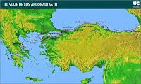 Viaje de Jasón y los Argonautas I