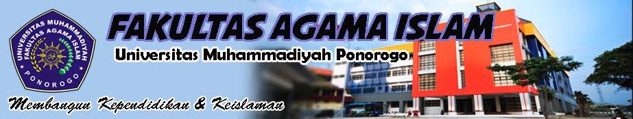 Fakultas Agama Islam Universitas Muhammadiyah Ponorogo
