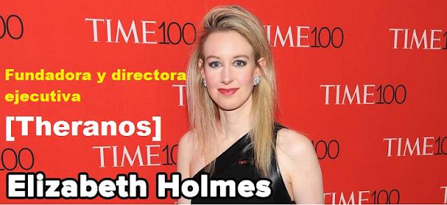 Multimillonarios, Elizabeth Holmes