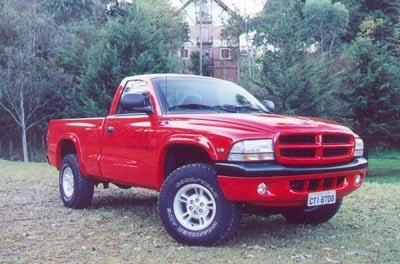 00a514f7b1 Plataforma N AN  Dodge Dakota sua curta vida no Brasil e nos EUA.