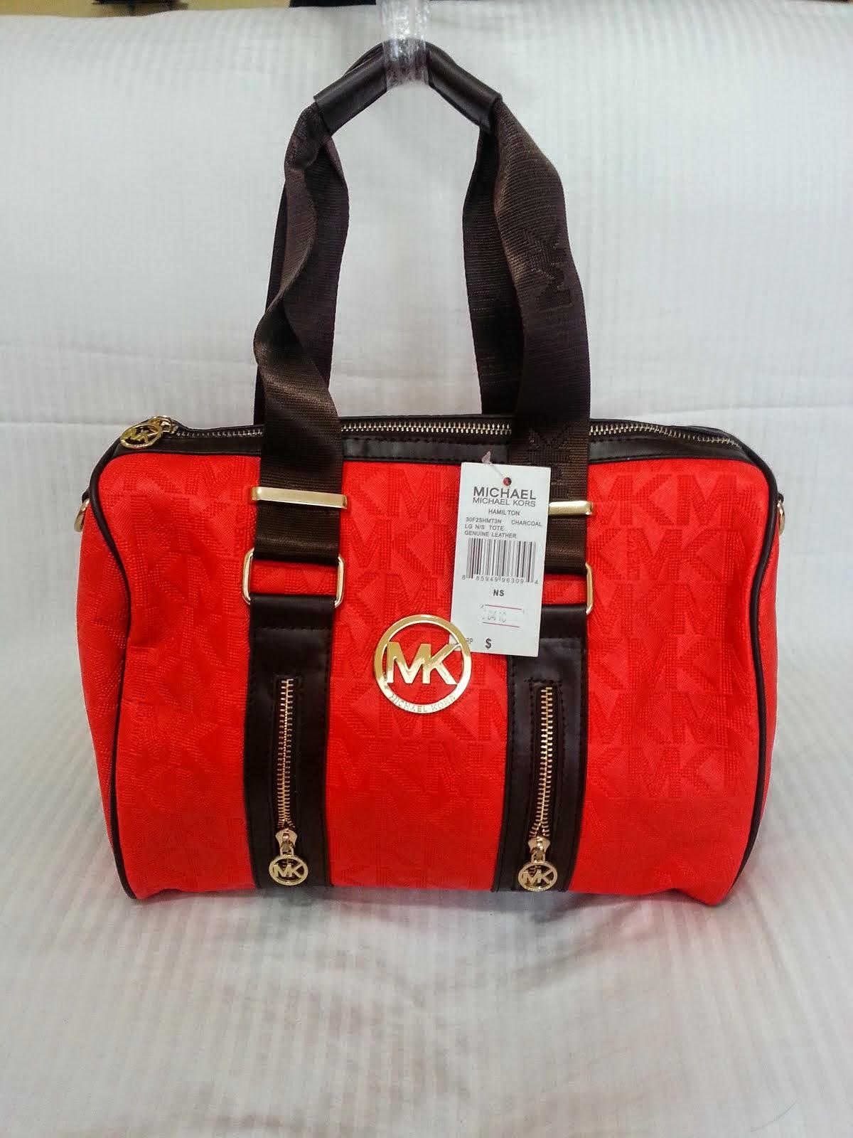 CARTERA MK ROJO (red) 20413