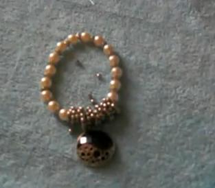 Pulsera perlas vintage paso a paso