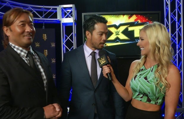 Renee Young interviews KENTA for WWE NXT