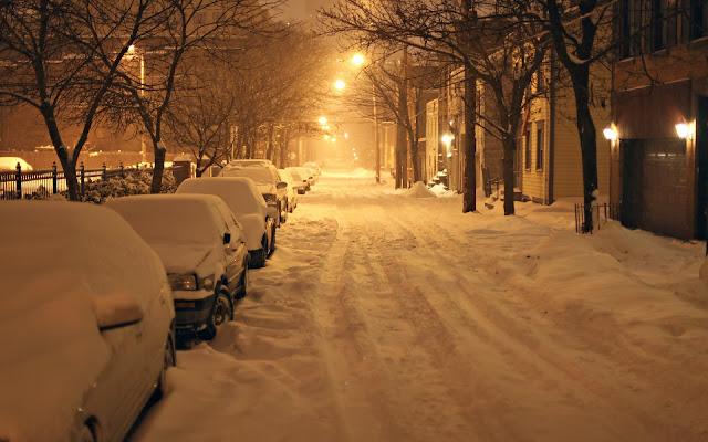 Tormenta Nieve en New York