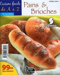 كتاب الطّبخ السّهل خاص بالخبز و البريوش Pains+et+brioches
