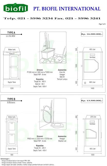 septic tank biofil, asli, modern, baik, induro, indonesia, biotech, go green, ramah lingkungan, fibreglass