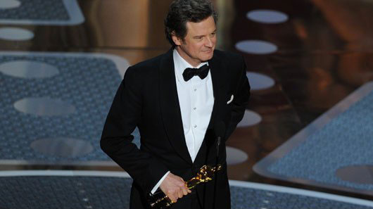 I was happy Colin Firth won,