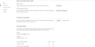 Cara Meningkatkan Keamanan Akun Google dan Blogger