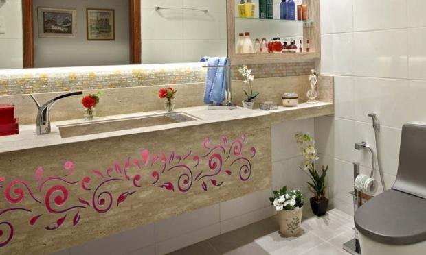 Bricolage e Decoração Decorar a Casa de Banho (Banheiro) com Plantas e Flores -> Decorar Banheiro Flores