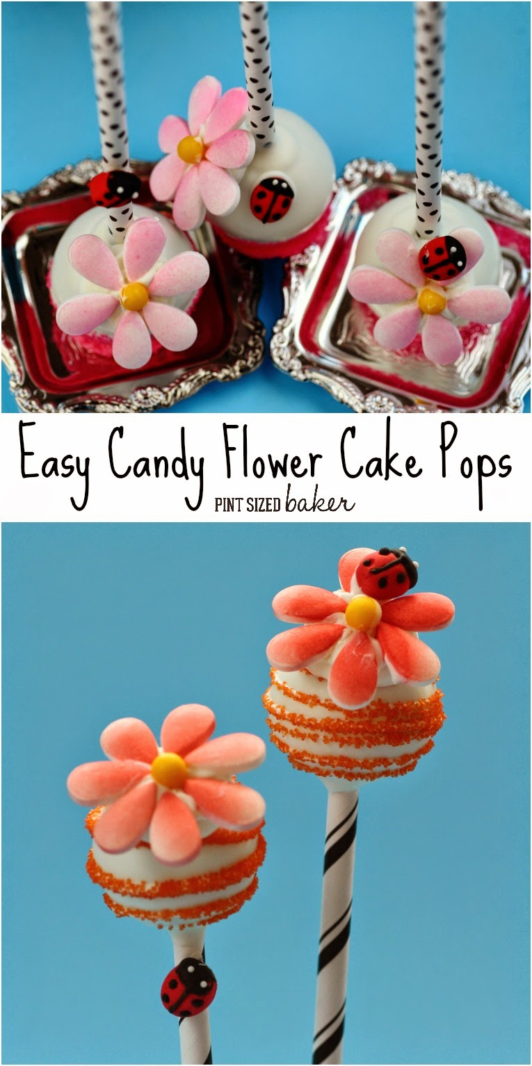 how to make flowers out of candy melts