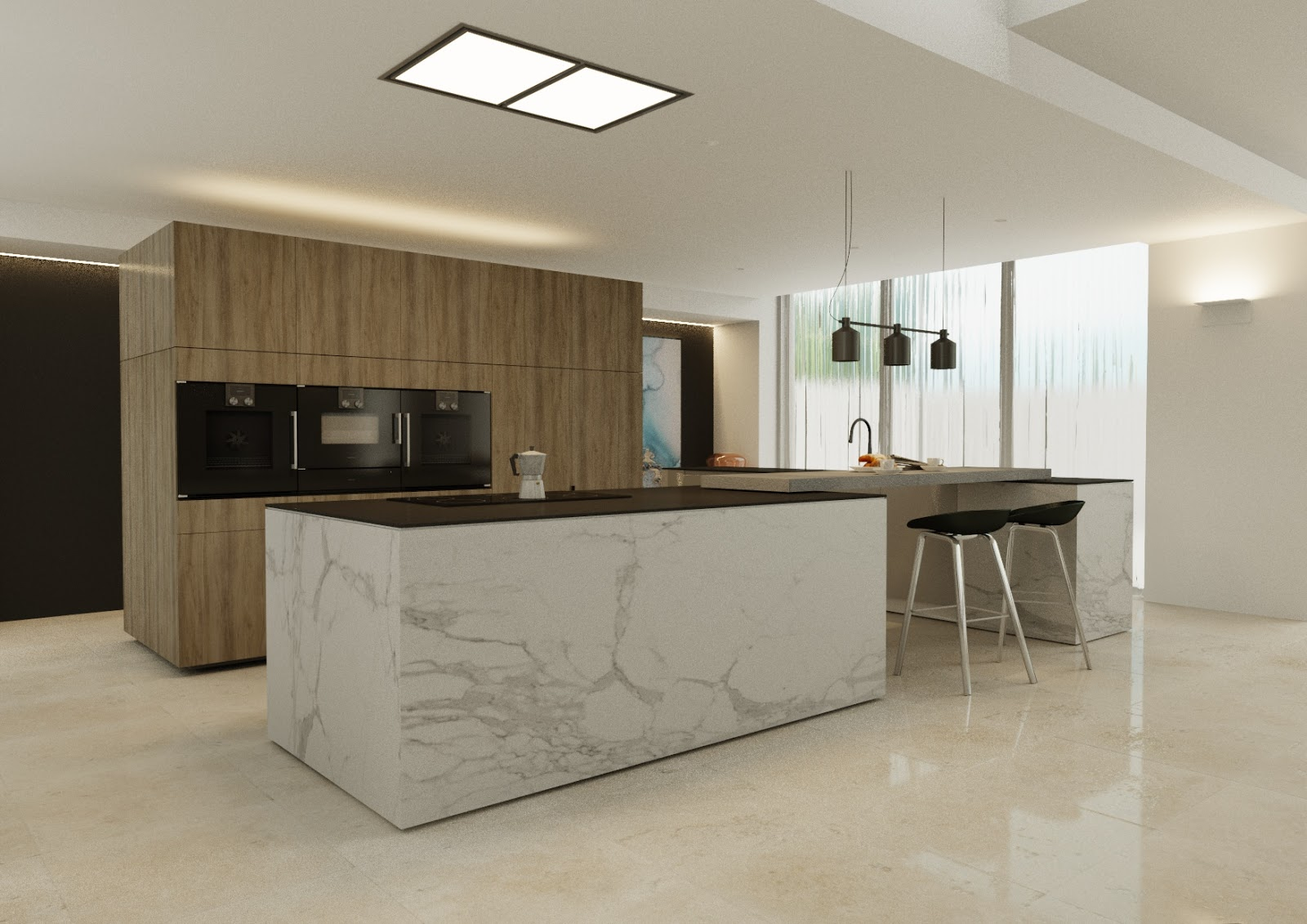 Minosa modern kitchen design requires contemporary approach - Modern kitchen design photos ...