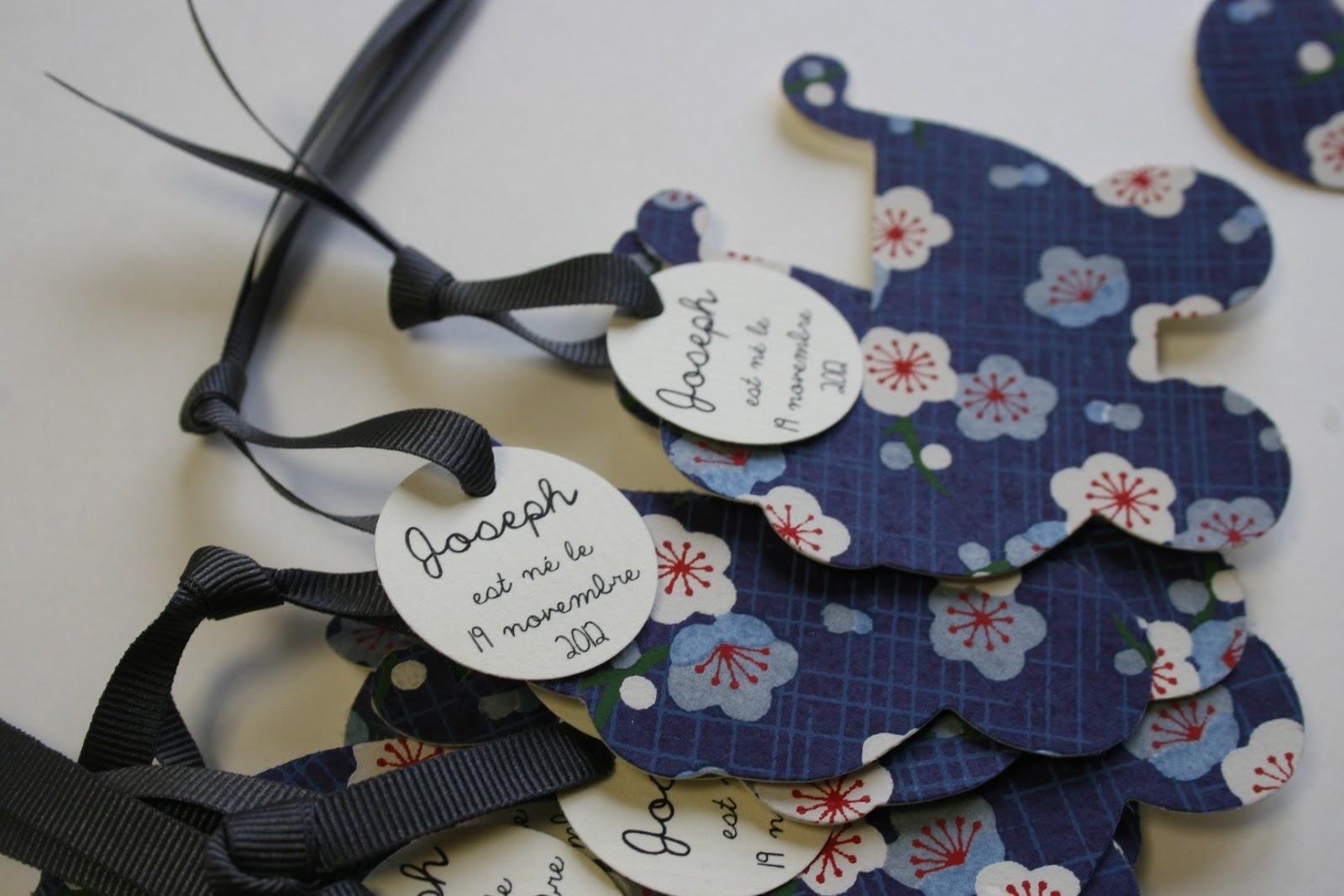 Souvent Fleur de pommier dans son atelier: Faire part de naissance esprit  VL73
