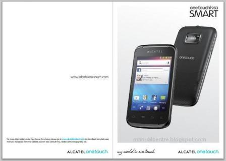 Alcatel OT-983 Manual Cover