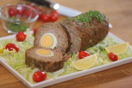 روستو اللحم بالبيض - مطبخ منال العالم