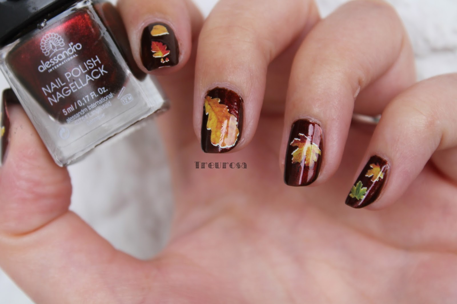nageldesign bilder 2015 herbst - Herbst OfficeNails