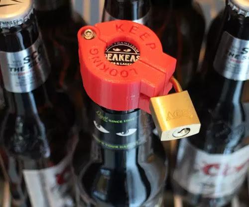 Trava de segurança para sua cerveja
