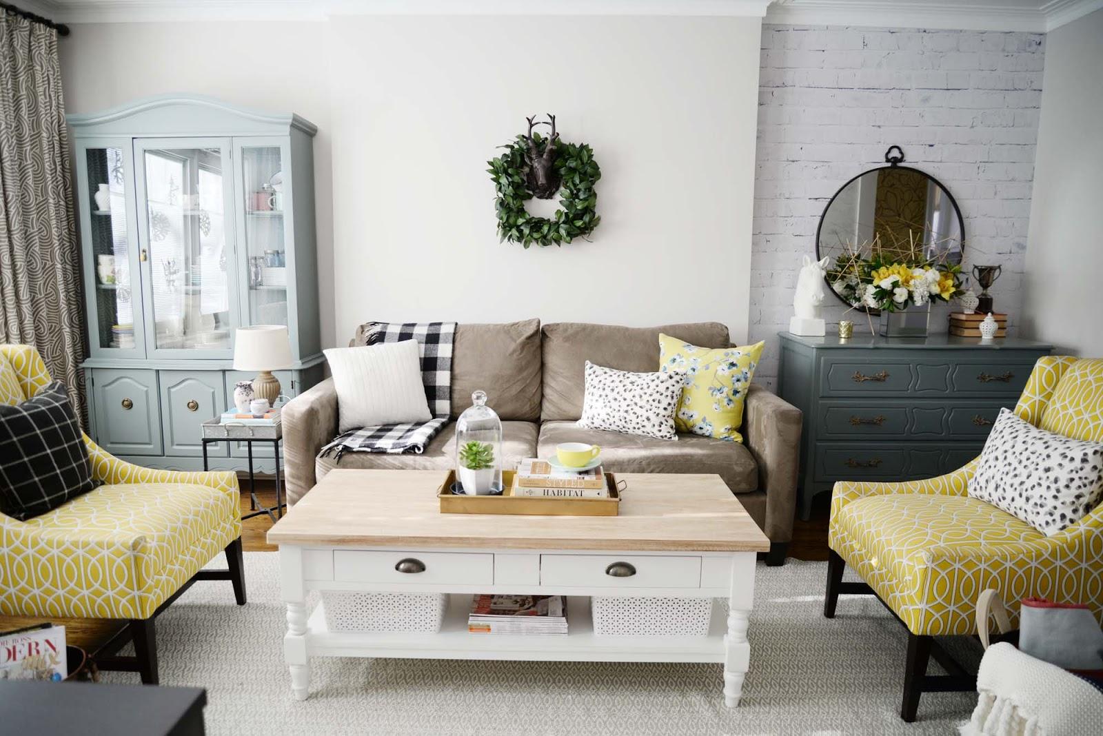 Wayfair Living Room Furniture A Wayfair Winter Refresh Challenge Rambling Renovators