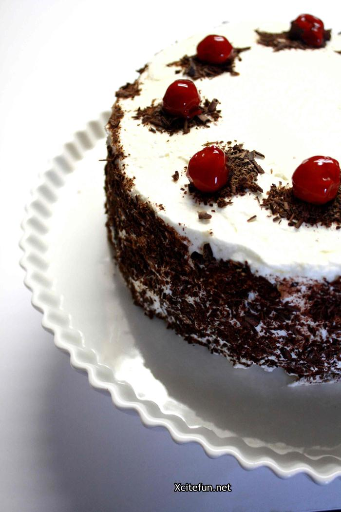 Cake Black Forest Birthday : Black Forest Birthday Cake Recipe