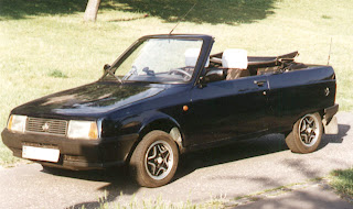 Romanian Car Oltcit Cabrio view