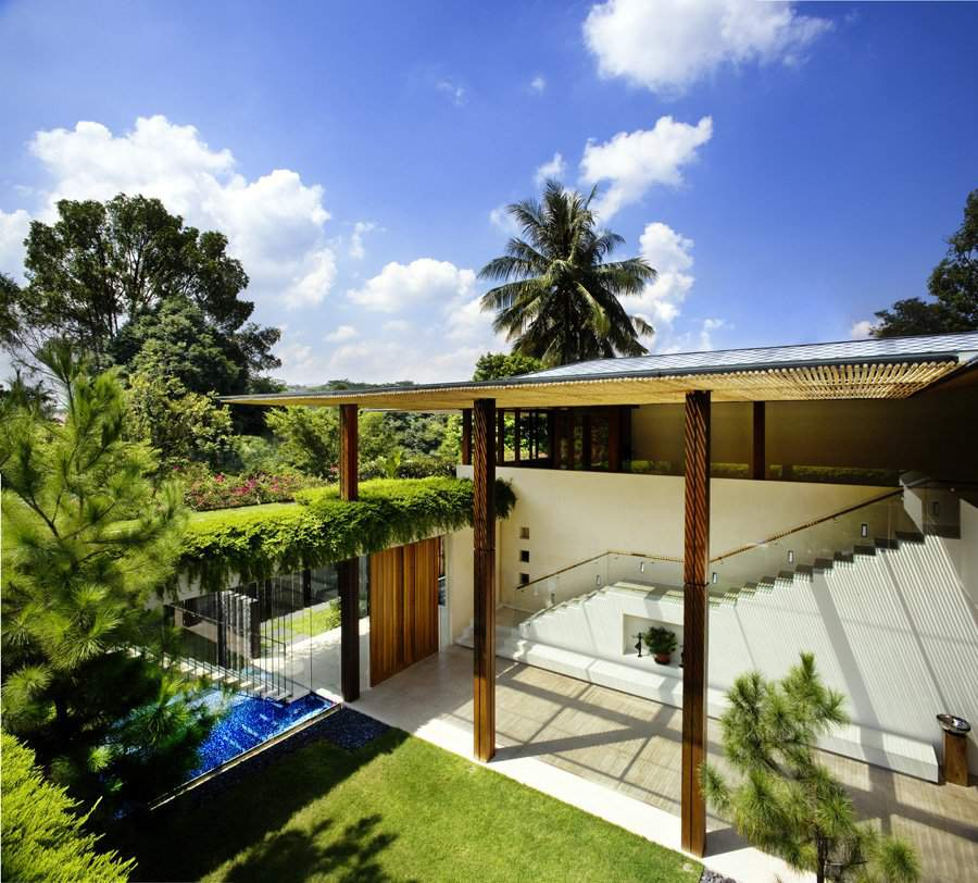 Contemporary tropical house tanga house modern home for Modern tropical house design