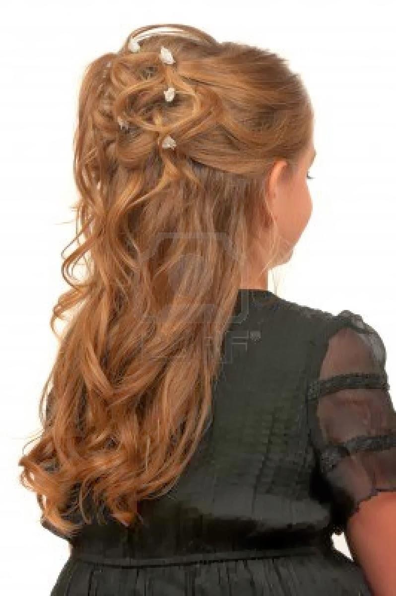 Top peinados de fiesta para ninas images for pinterest tattoos