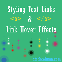 Link Hover Effects Using CSS