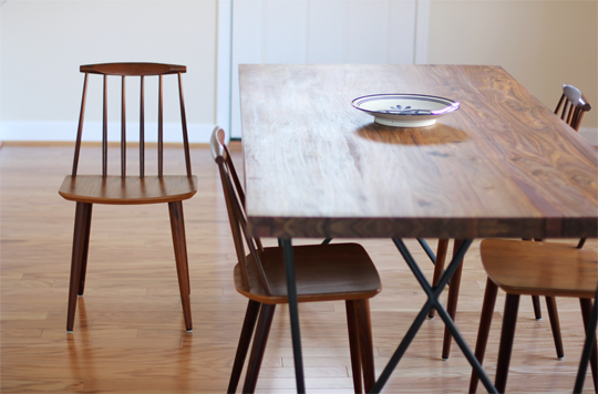 The Table Is The Dylan Dining Table From CB2 Designed By Jonas