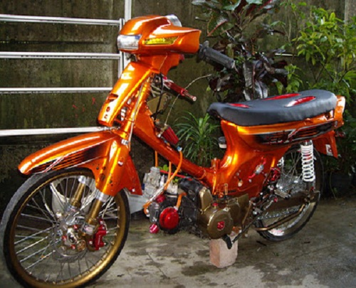 modifikasi honda grand astrea adapun gambar modifikasi honda grand