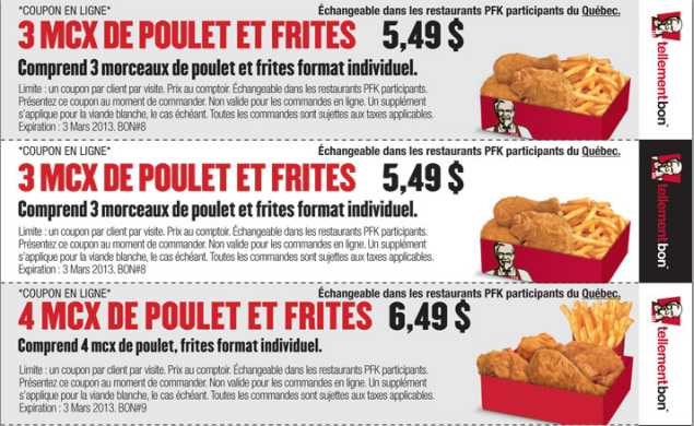 Coupons restaurants montreal