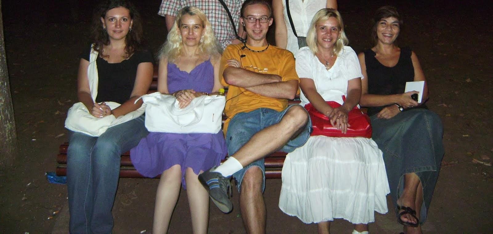 Olivia Maria Marcov, Alexandra Georgescu, Adrian Pafa, Bianca Eftimie,colegii mei, 2009, Bucharest