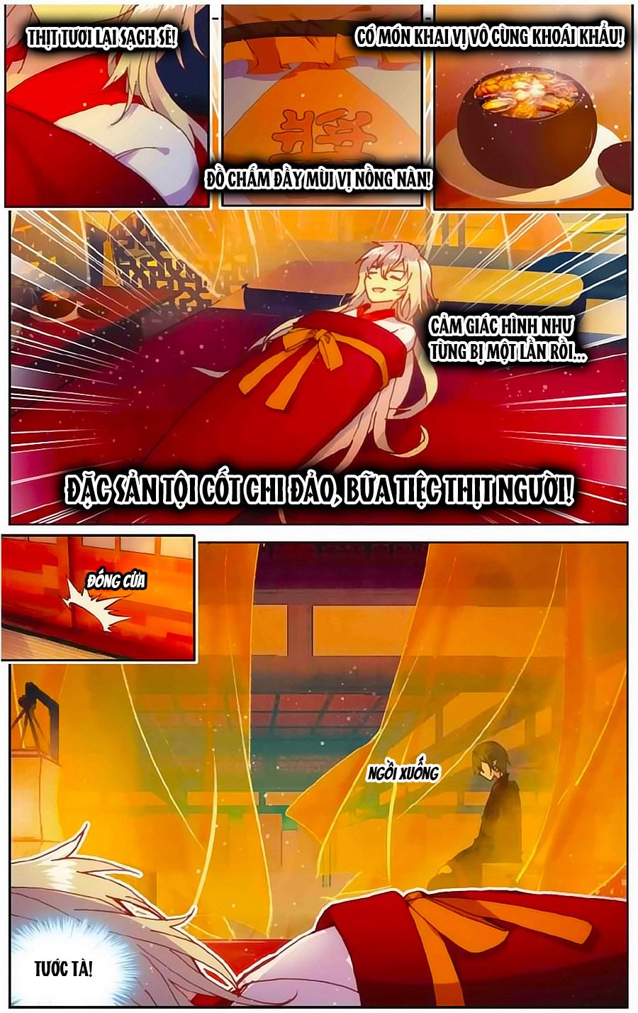 Thiên Hành Thiết Sự chap 71 page 18 - IZTruyenTranh.com