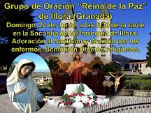 """GRUPO DE ORACIÓN """"REINA DE LA PAZ"""""""