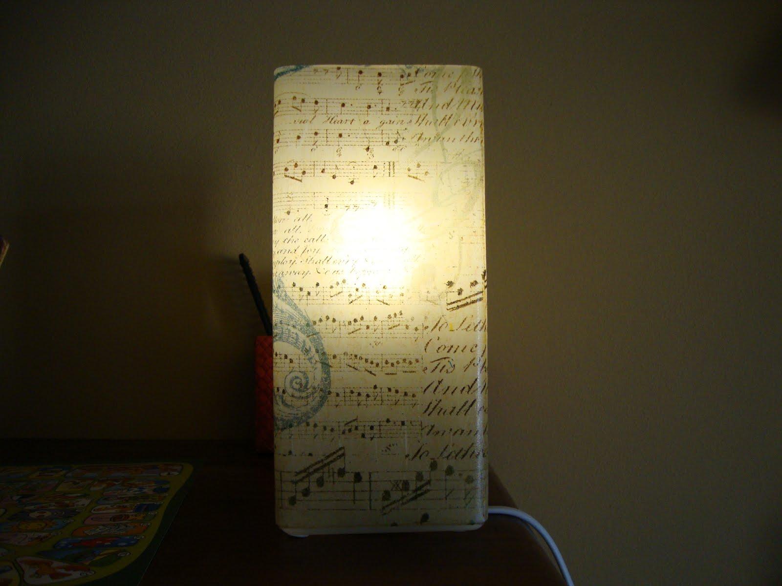 Manualidades de noemi desde menorca lamparas para el sal n - Lamparas de papel de arroz ...