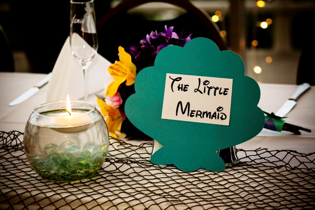Ultimate Disney Wedding Centerpieces - The Little Mermaid
