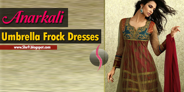 Anarkali Umbrella Kurti Frocks