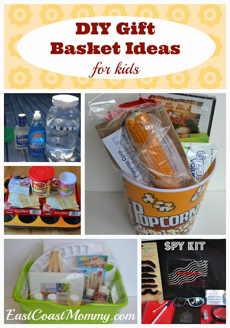 DIY Gift Basket Ideas  for kids Gift Basket Ideas For Kids