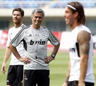 Los intocables en una Formación de José Mourinho