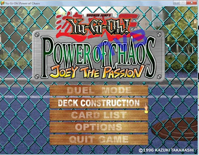 Yugioh Power of Chaos : Joey the Passion