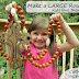 Make a LARGE Rosary ~ It's the perfect size for Children!