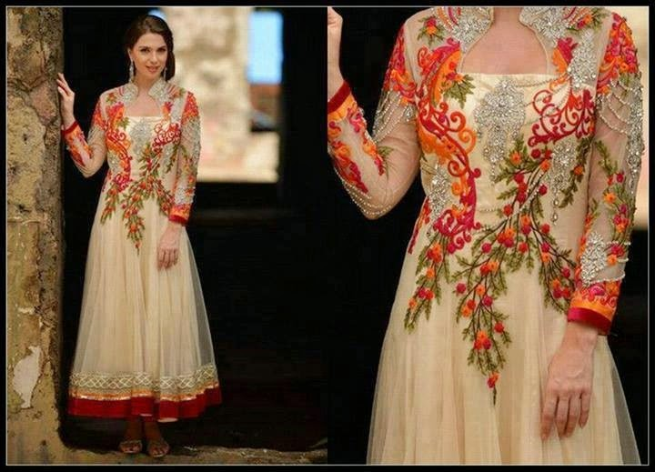 Top 10 Beautiful and latest Pakistani Party Dresses - The Famous ...