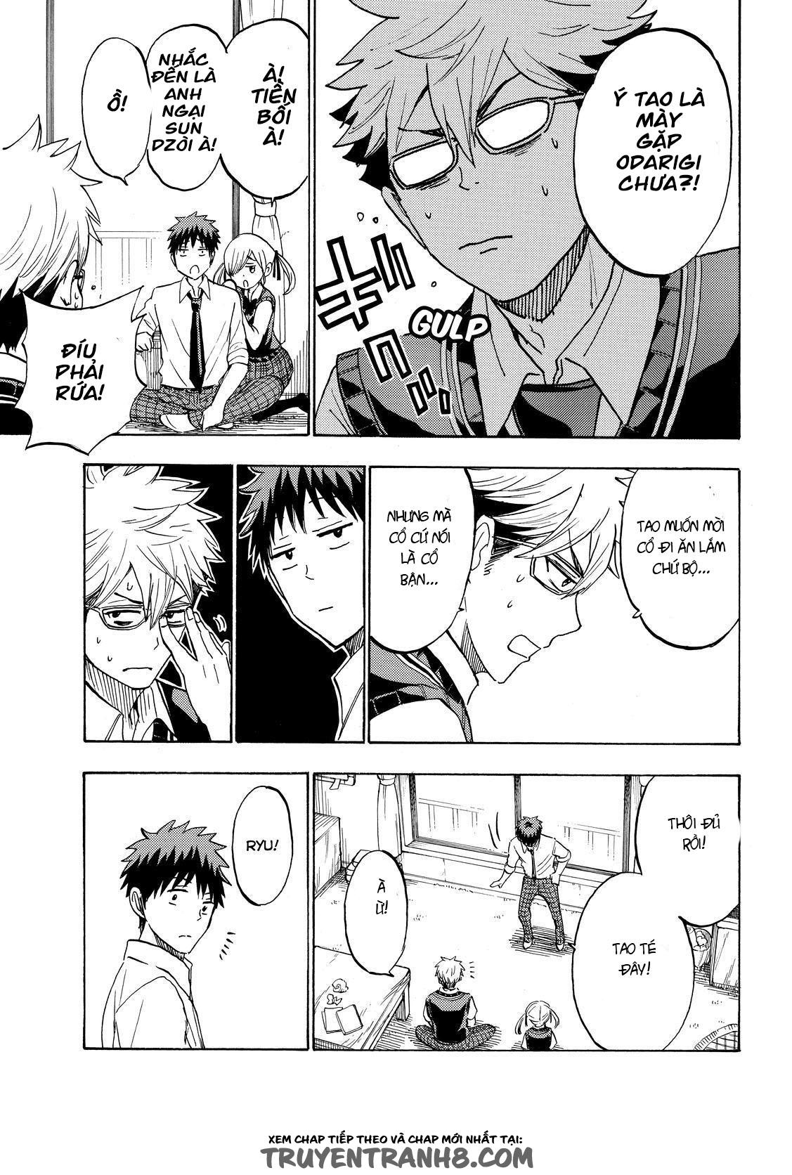 Yamada-kun to 7-nin no majo chap 224 Trang 16 - Mangak.info
