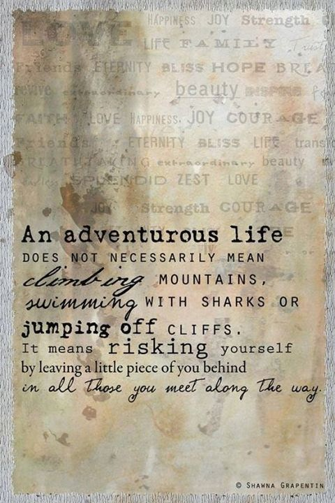 best travel quotes, inspirational travel quotes, an adventurous life does not necessarily mean quote