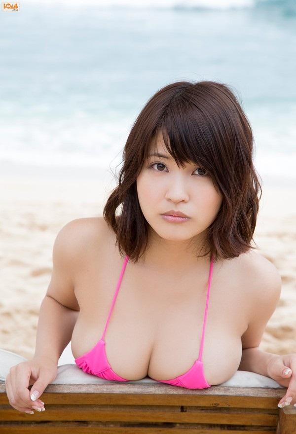 Ảnh gái đẹp HD Bỏng mắt áo tắm sexy Asuka Kishi